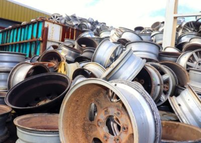 Scrap rims recycling centre Melbourne
