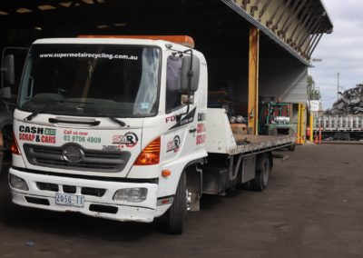 Super Metal Recycling - One of our trucks